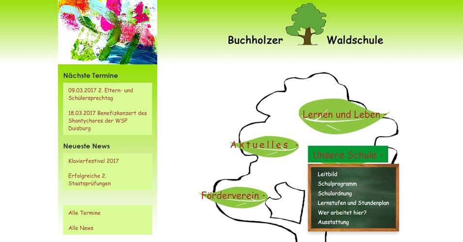 Startseite Buchholzer Waldschule